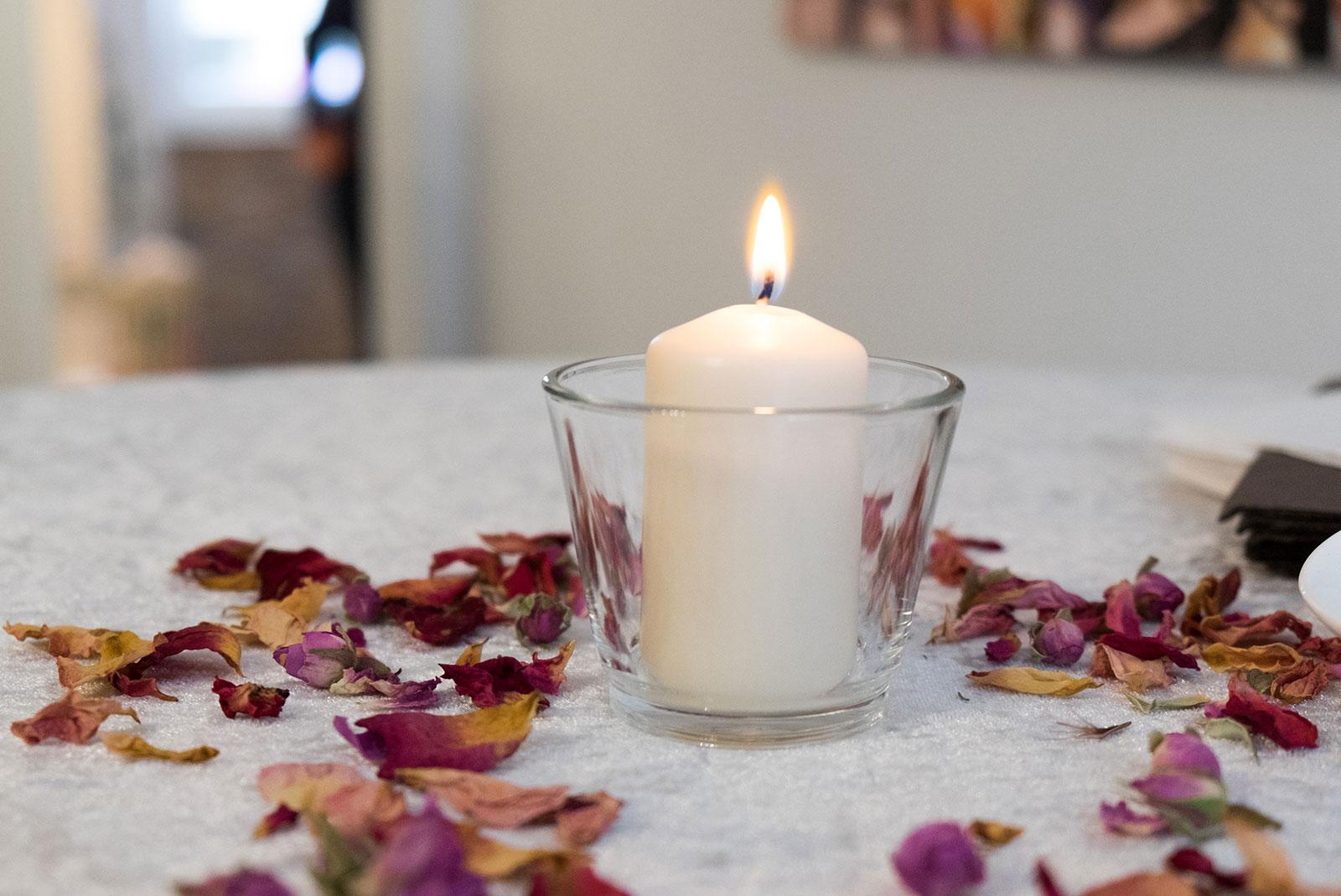 Träume mit Kerzen