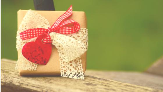Geschenkideen -Päckchen